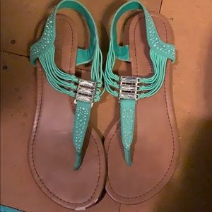Mint Green Madden Girl sandals
